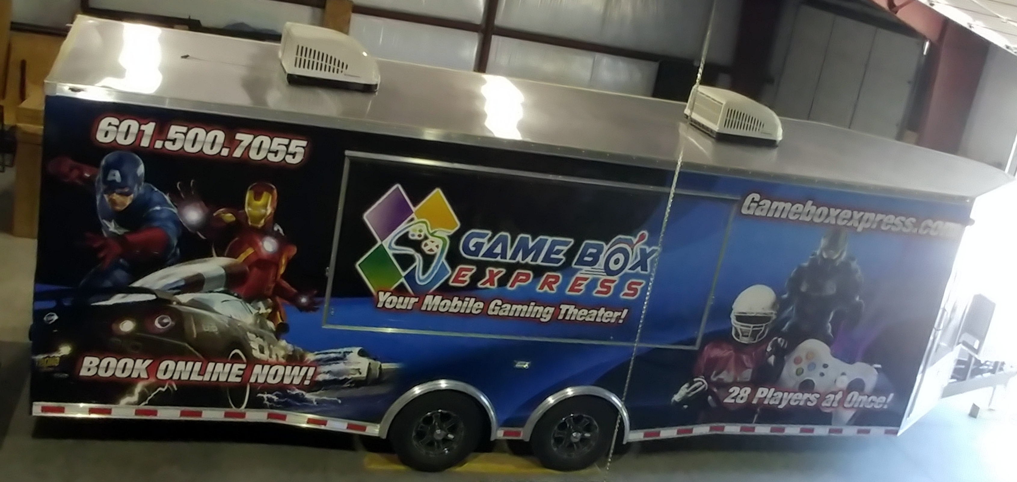 Game Box Express in the shop