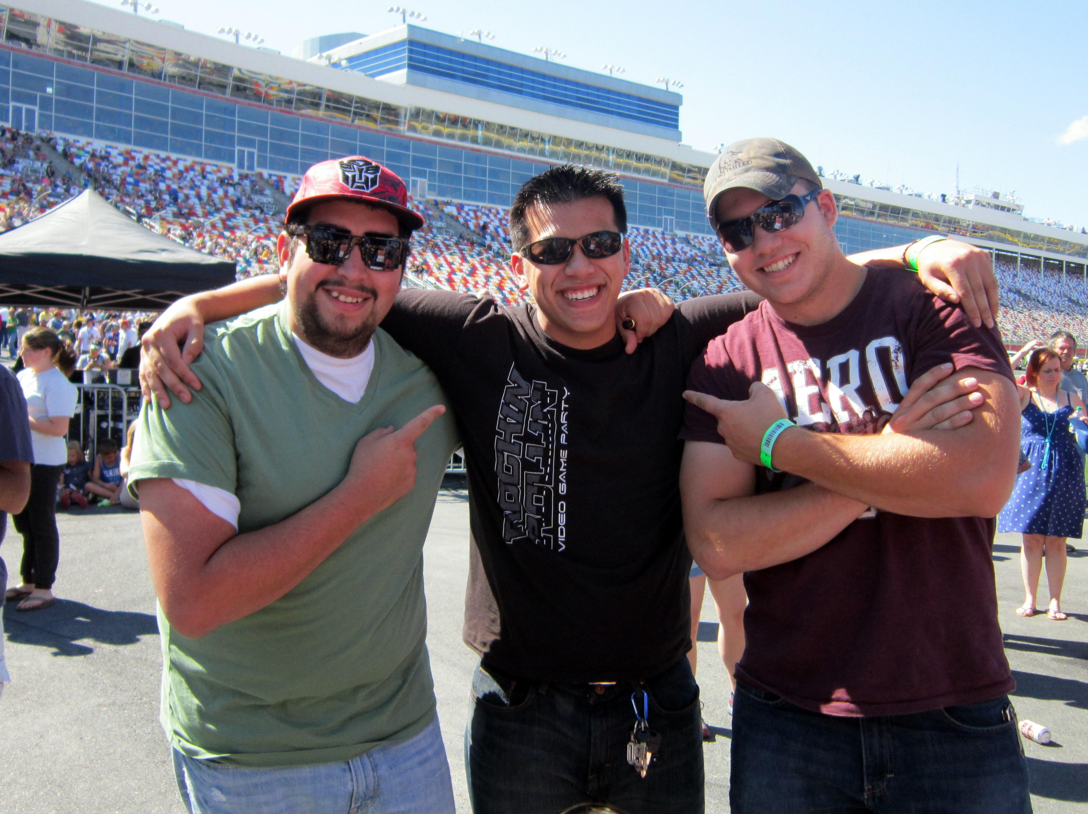 Game Coaches Kevin, Ben and Dalton