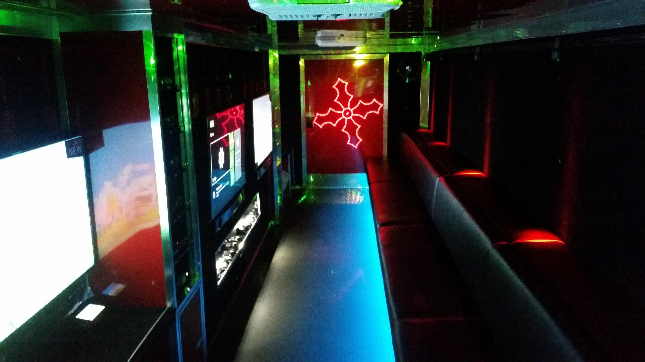 Our Signature Interior in Red!
