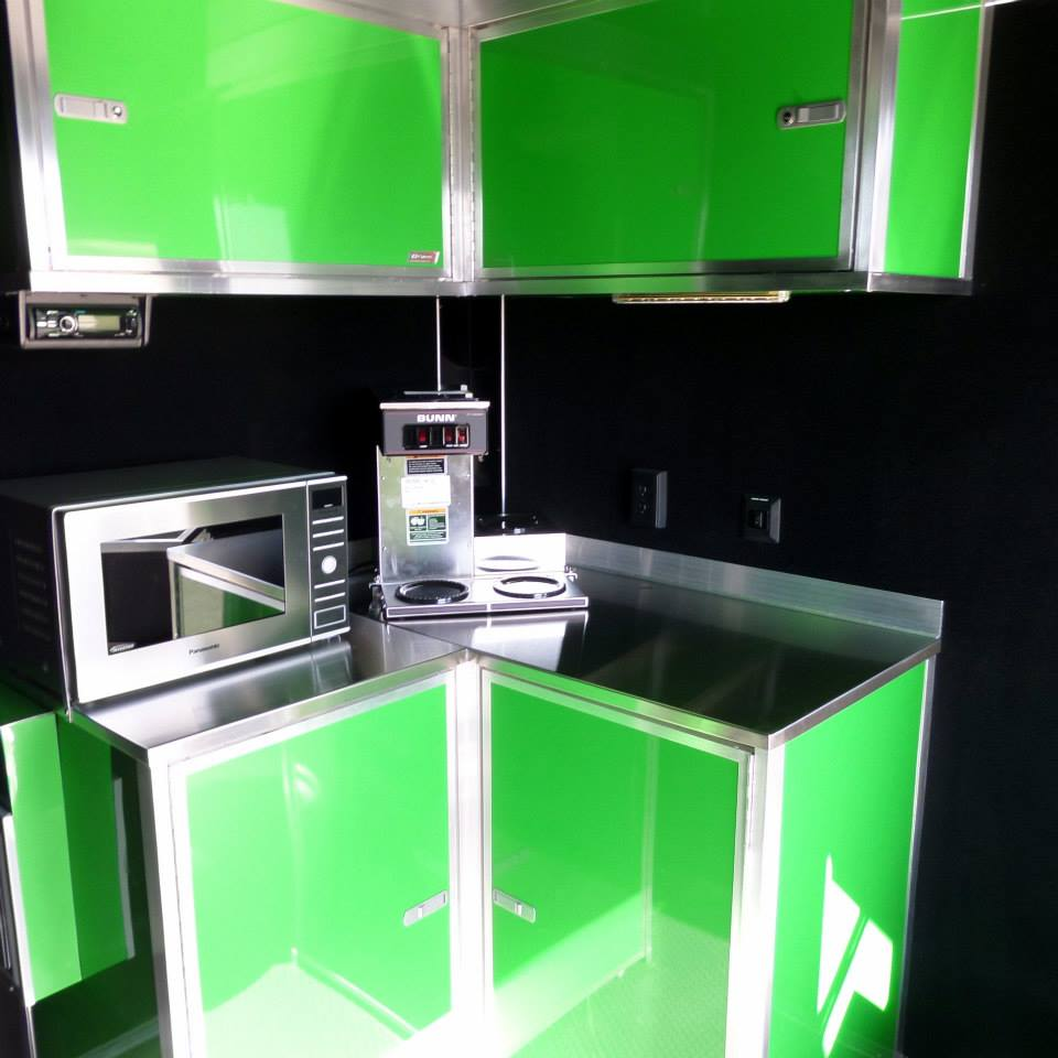 We Do Custom Kitchens in our Game Trucks!