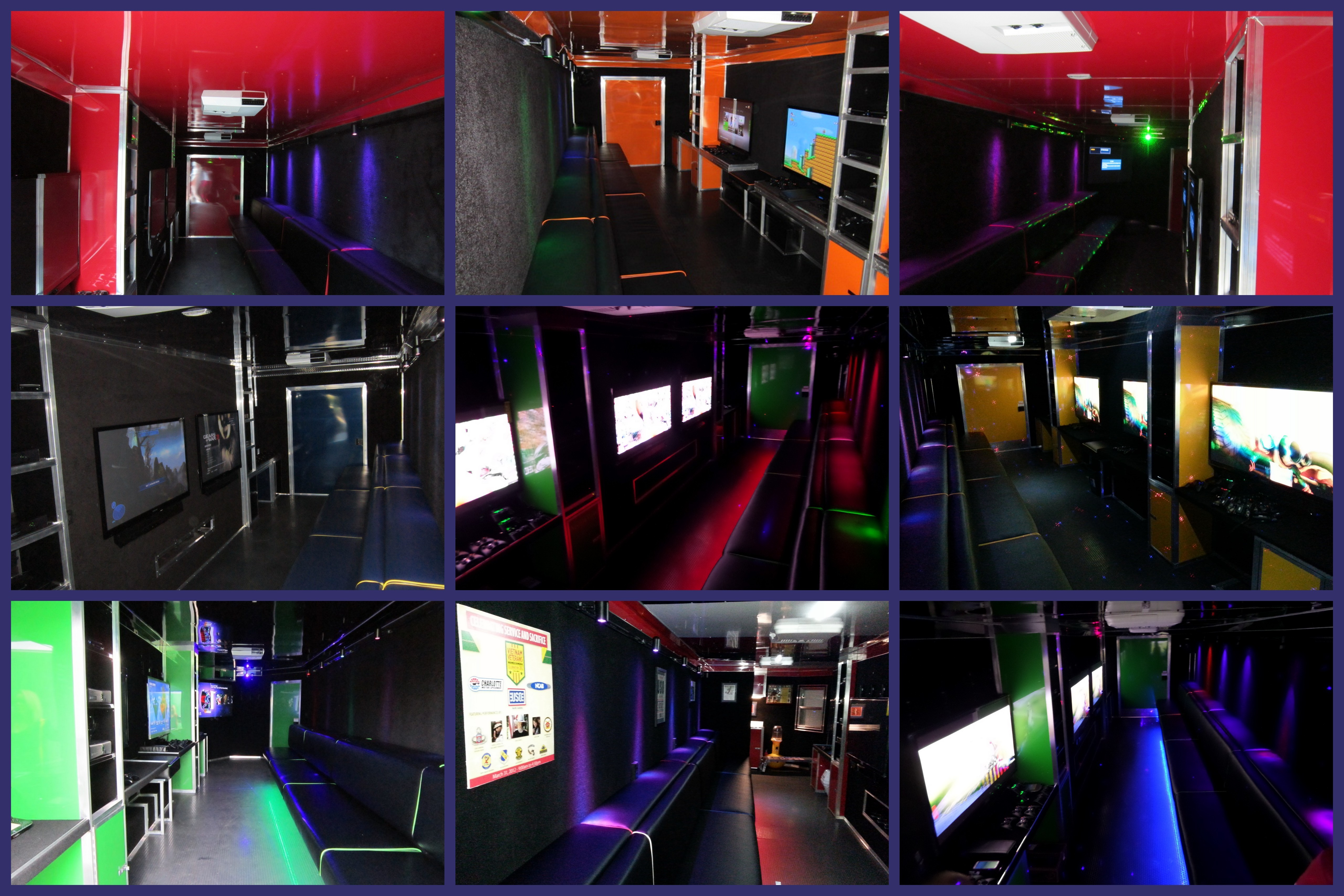Mobile Game Theater Collage