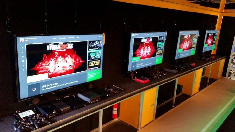 Yellow Premier 4 TV Unit