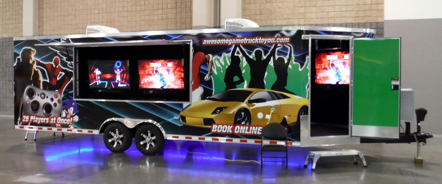 game truck inside