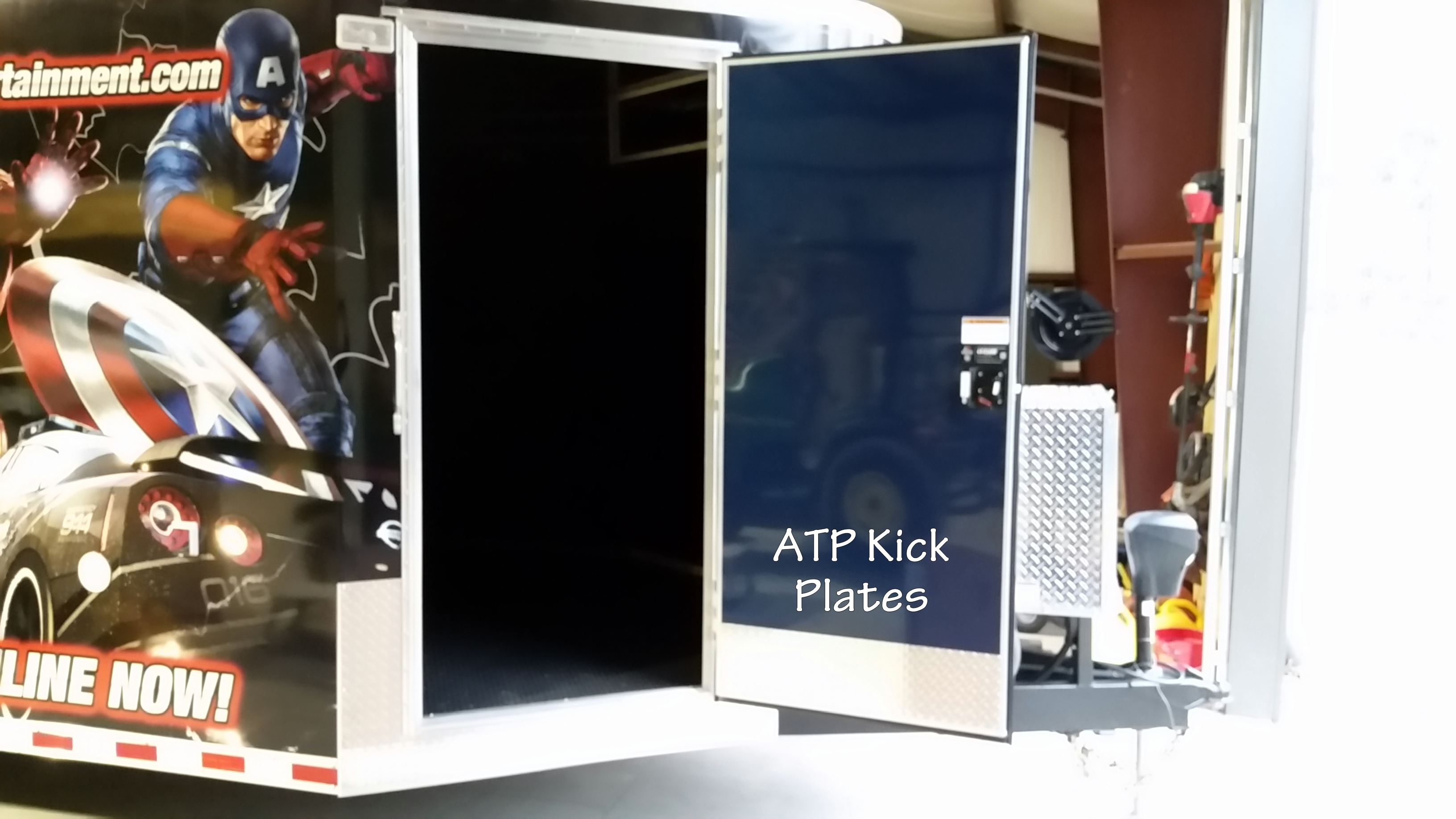 ATP kick plates