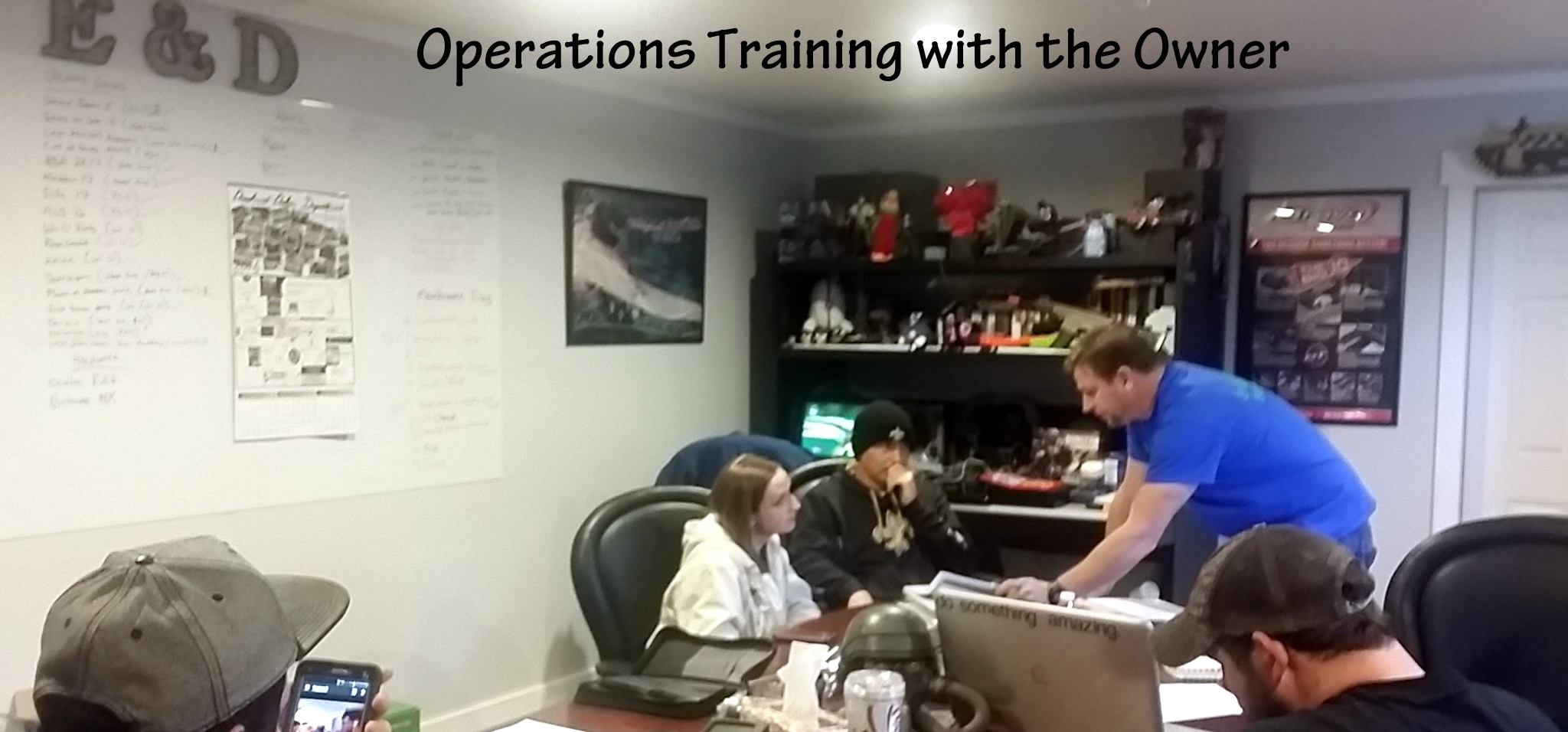 Training Day for On Sight Entertainment Operations