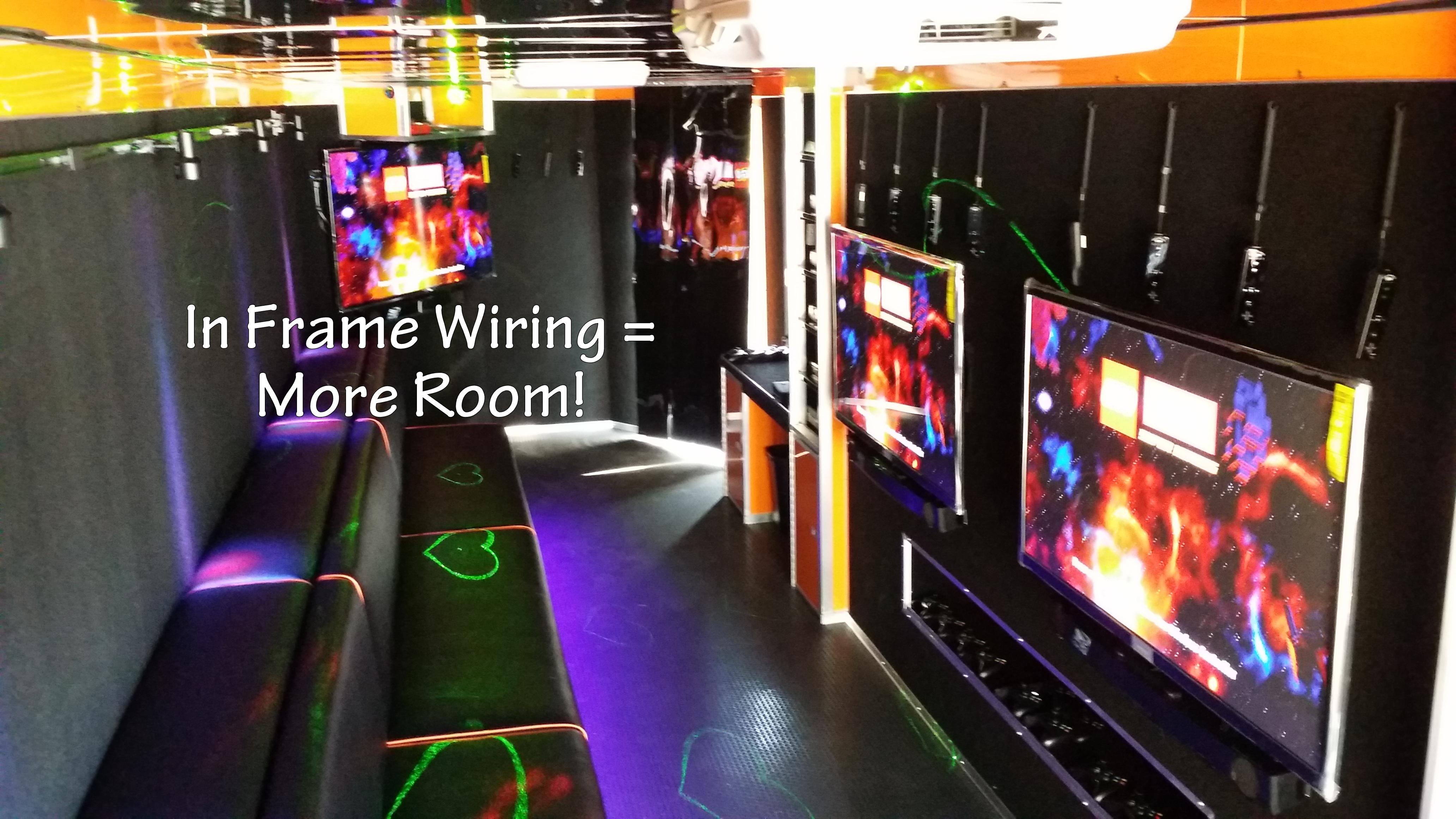 Training In Frame Wiring Orange interior